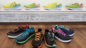 Eine kleine Auswahl unserer Laufschuhe der Marke Hooka One One