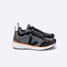 Concrete Black Neon - Orange